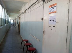 Some yasnovidyashis have their own offices. Here is one such office in the building across from Ala-Too Square.