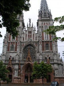 St. Nicholas Catholic Cathedral Facade