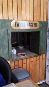 Don't forget to return your dishes! (Bar Rusałka),
